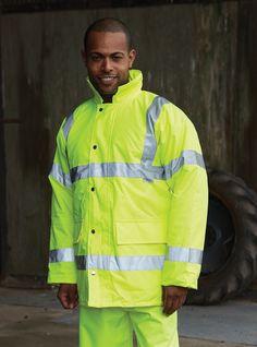 Yoko Hi-Vis Contractor Jacket - Under £24