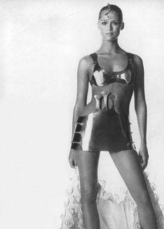 Lauren Hutton by Irving Penn, 1968.