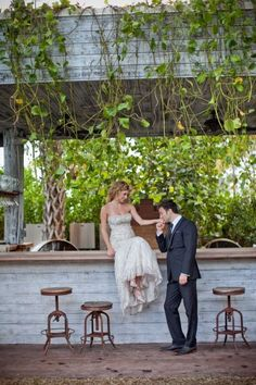 Miami Beach Wedding at Cecconi's by Nataschia Wielink Photo + Cinema  Wedding Venue: Cecconi's at the Soho Beach House in Miami Beach, Florida   Wedding Planning: Sari of Jackie Ohh Events   Floral Design: Kathryn Parrish of Parrish Designs   Wedding Dress: Monique Lhuillier   Bride's Makeup: Tania Terzcik   Hair + Makeup: Allure Hair and Makeup   Groom's Suit: Ted Baker  Style Me Pretty | Gallery