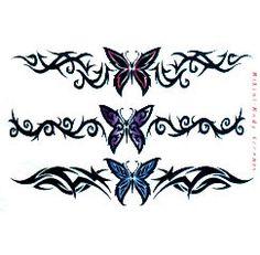 tribal butterfly tattoos tattoos-piercings
