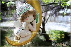 Mimin Dolls: little baby on the moon