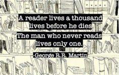 A reader!