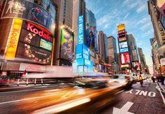 New York Times Square traffic