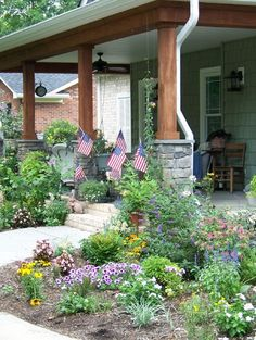 Porch Small Front Yard Landscaping Ideas Design, Pictures, Remodel, Decor and Ideas