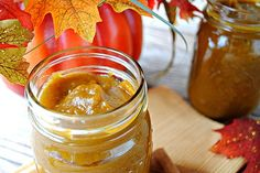 Pumpkin butter...can't you just smell the spices!