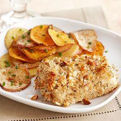 Crispy Almond-Crusted Cod