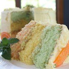 Rainbow Citrus Cake - Allrecipes.com