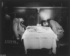 LAPD crime scene photo of a mob hit 1933  -