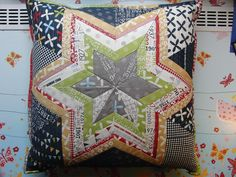 starflower pillow!!  this one is fun too!!