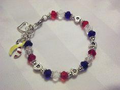 Red White and Blue Patriotism Bracelet!!!
