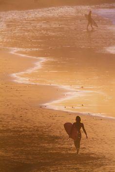 Canteras Sunset by Alex Bramwell