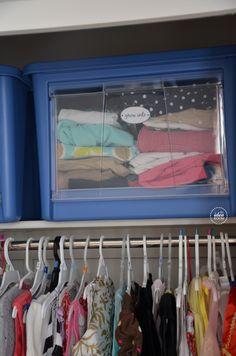 Closet Organization Tips #homeorganization