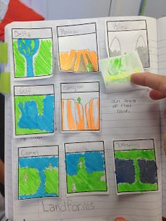 Interactive Landforms Activity