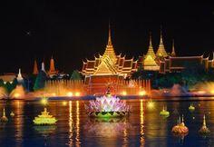 bangkok, krathong festiv, loy kratong, loy krathong, festivals, kratong festiv, festiv thailand, place, loi krathong