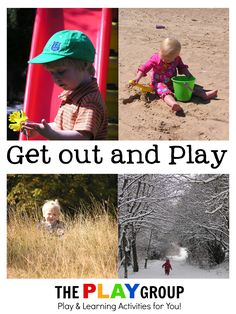 Ideas to play outside year around