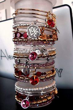 I love Alex and Ani bracelets!!! <3
