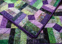 purpl quilt, color, hoffman bali quilt, quilts, order quilt