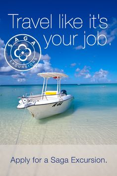 Apply for a Saga Travel Excursion http://www.getsaga.com/blog/go-on-a-saga-excursion/