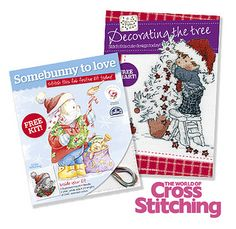 Christmas cross stitch ideas - FREE gifts, by The World of Cross Stitching, via Flickr