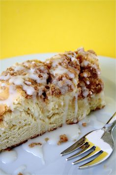 Coffeecake with Sweet Cheese Filling