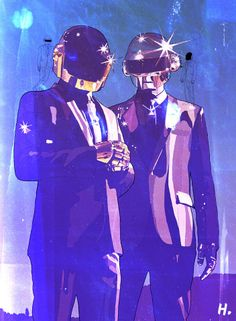 Daft Punk by Graphik H