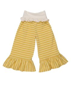 Yellow Bell Pant