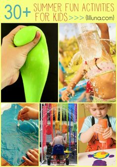 30+ Summer Fun Activities for Kids
