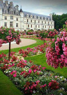 loir valley, loire valley france, de chenonceau, pari, chateau chenonceau, loire valley castles, travel, place, garden