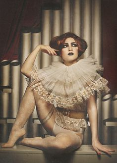 Circus queen 2 by annalucylle, via Flickr