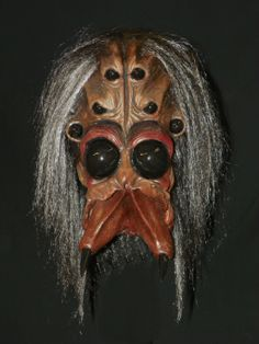 Halloween Mask Arachnoid Spider Scary Creepy Freaky Monster in Monster Madness.  $75.00 includes Free U.S. Shipping.
