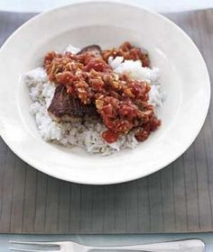 King Creole Tuna Steaks recipe from realsimple.com #myplate #protein #vegetables