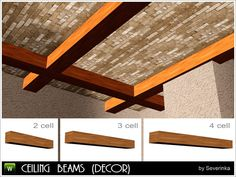Ceiling beams by Severinka - Sims 3 Downloads CC Caboodle