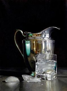 James Hollingsworth (American, born 1954) 'Pitcher with ice'