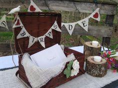 card basketvintag, vintage weddings, banner set, baskets