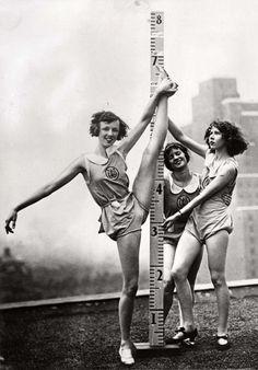 Ballet training in New York, 1931.