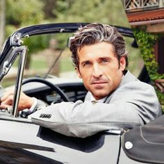 PATRICK DEMPSEY love a man with a little salt and pepper