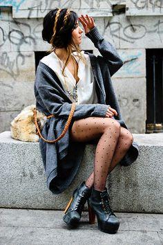 ○ • • PLUMETTI • • ○ (by ANGELA ROZAS SAIZ) http://lookbook.nu/look/2690841-PLUMETTI