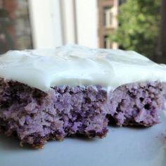 chocolate chips, sugar free desserts, dessert recipes, purple cabbage recipes, purpl cake