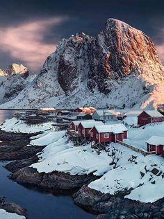 Lofoten Island , Norway