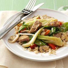 Asian Pork Stir-Fry Recipe