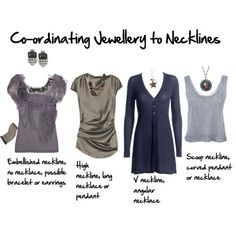 what jewelry to wear with what necklines