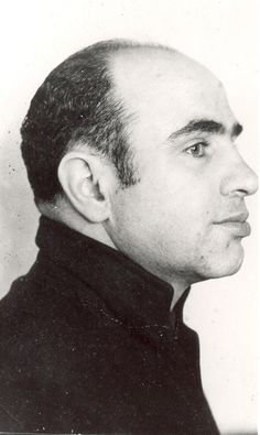 Al Capone. Alcatraz mugshot ca.1934