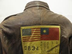 Image detail for -Approved: Vintage 'Flying Tigers' Jacket | The Eye of Faith