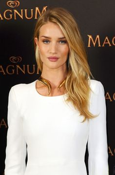 Rosie Huntington-Whiteley looked stunning at a press conference and screening for the new Magnum short film in Berlin on May 19, 2014.