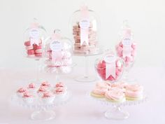 Sweet & Simple Dessert Buffet - Romantic DIY Wedding Ideas on HGTV