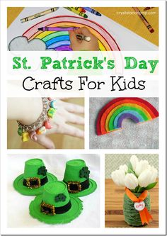 6 Fun St. Patrick's Day Crafts For Kids - Princess Pinky Girl