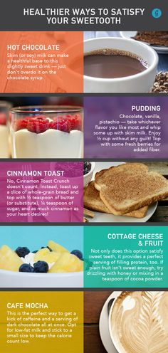 Healthier Ways to Satisfy Your Sweet Tooth