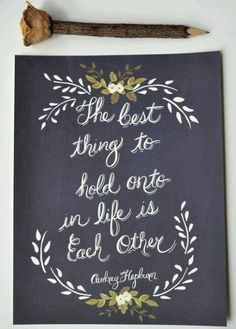 Cute romantic quote to go with wedding/engagement photos, printed on wood! www.mywoodprint.com