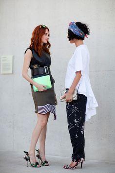 Sydney Fashion Week Spring 2012 Street Style - Australia Fashion and Style 2012 - Harpers BAZAAR