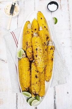 grilled summer corn